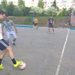 Было сыграно несколько матчей под палящим солнцем.