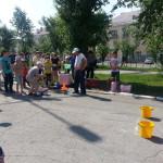В Карпинске для детей из летних школьных лагерей прошла городская игра. Фото, видео