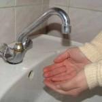 В Карпинске вновь - отключение холодной воды