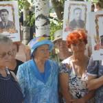 На митинг пришли люди, чье поколение згает войну не из книжек