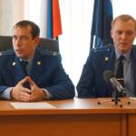 Прокурор Карпинска ответил на вопросы журналистов