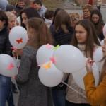 Особую линейку провели 3 сентября старшеклассники Карпинска