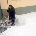 Карпинск: испытание первым снегом
