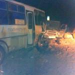 ДТП на трассе у Карпинска. Аудиозапись рассказа водителя автобуса: «Это прямая вина дорожной службы!»