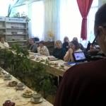 Камеры и диктофоны журналистов гости мероприятия не смущали