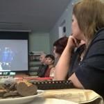 Мамы с удовольствием смотрели презентации, подготовленные к встрече