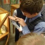 Школьники не боялись даже тропических жуков