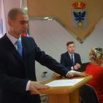 Карпинец победил на выборах в областной молодежный парламент