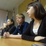 Молодежная избирательная комиссия вручила мандаты