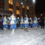 Коллективы ГДК показывают свой новогодний танец