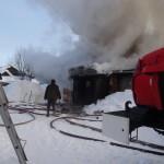 Пожарные машины к дому подъезжали одна за другой