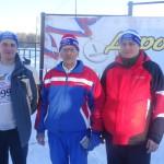 Рудольф Георгиевич (в центре) - самый старший участник соревнования