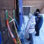 Желающие могли получить лыжи напрокат бесплатно