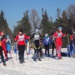 Лыжницы готовы к старту