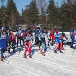 Вперед,  к победе! На лыжи встали сотни карпинцев
