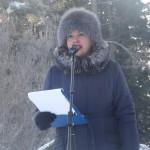 Ведущей митинга была Анна Припорова