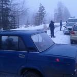 За «гололедные» дни в Карпинске было несколько ДТП