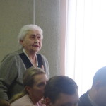 Ветеран Елизавета Лоскутова говорила о наболевшем