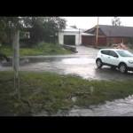 На севере области прогнозируют сильные дожди. От поездок лучше воздержаться