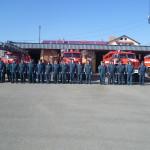 Пожарные и спасатели Карпинска вспоминают погибших товарищей