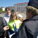 С детьми провели викторину на знание парвил ПДД