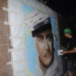 Портрет Остапа Бендера на несколько часов украсил городскую стену