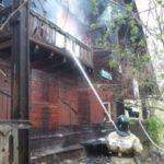 При пожаре в карпинском поселке Веселовка погибли мать и дочь