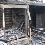 В Карпинске при пожаре погибли двое