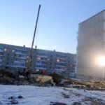 В Карпинске началось строительство нового дома. В него переедут первые переселенцы-2014