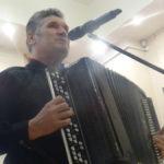 Николай Сергиенко не только сыграл на аккордеоне и спел под свою музыку