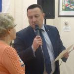 Первая юбилейная медаль была вручена главе города Андрею Клопову