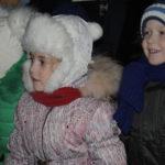 Дети с удовольствием наблюдали сказочное представление