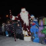 Прямо из толпы на сцену вышел сам Дед Мороз