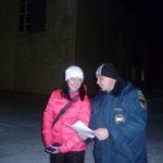 В Карпинске у елки работал пост безопасности