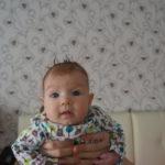 В Карпинске первым ребенком года стала девочка