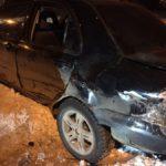 В Карпинске пьяный водитель, ранее лишенный прав, стал виновником ДТП