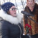 Ученица школы №5 Маргарита Букатникова выступает от лица молодого поколения