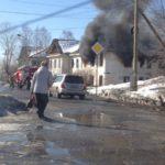 В Карпинске горят расселенные дома