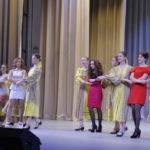"""Участницы вышли под танцевальную композицию, которую исполняла группа """"Вдохновение"""""""