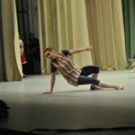 Лера успевала и участвовать в конкурсе, и танцевать в номерах между этапами
