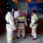 С пожарными поселка провели тренировку