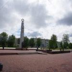 На карпинской площади Славы распылят «химию»