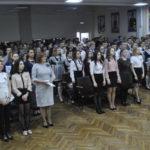 Когда зазвучал гимн России, все сразу же встали со своих мест
