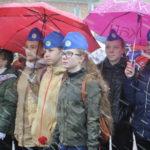 Поддержать пограничников пришли ребята из военно-патриотических клубов города