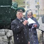 С пламенной речью выступил депутат Александр Аскаров