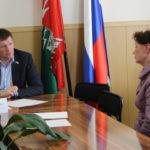 Депутат Госдумы Сергей Бидонько проводит приемы граждан в своем избирательном округе