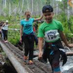 Путь в гору детям давался довольно легко. А вот с горы было идти труднее