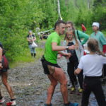 Спортсмены хватали воду на бегу
