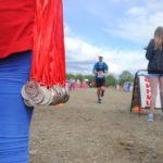 Участники марафона буквально бежали к своим медалям