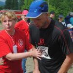После сложного забега некоторым спортсменам потребовалась медицинская помощь